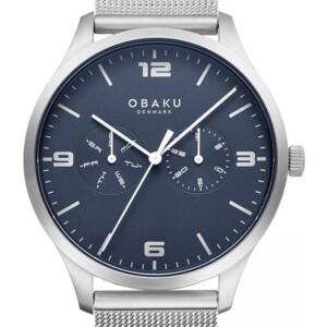 Obaku ASK - CYAN V249GMCLMC - zegarek męski