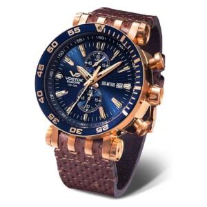 Vostok Europe Energia Chrono Line VK61-575B590 - zegarek męski