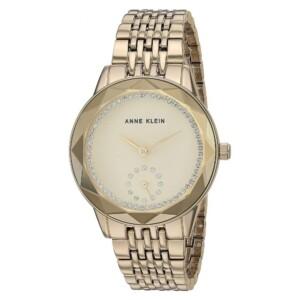 Anne Klein Swarovski Crystal Accented AK3506CHGB - zegarek damski