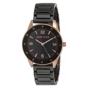 Anne Klein damski AK3658RGBK - zegarek damski