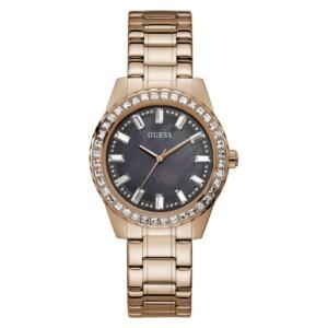Guess Sparkler Rose Gold GW0111L3 - zegarek damski