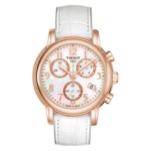 Tissot Chronograph Lady 18K GOLD T906.217.76.112.00 - zegarek damski