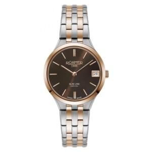 Roamer Slim-Line Classic 512857 49 65 20 - zegarek damski