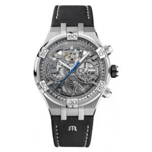 Maurice Lacroix AIKON CHRONOGRAPH SKELETON AI6098-SS001-090-1 - zegarek męski
