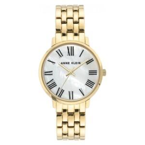 Anne Klein Gold-Tone AK3680MPGB - zegarek damski