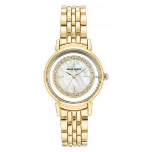 Anne Klein Swarovski Crystal Accented AK3692MPGB - zegarek damski