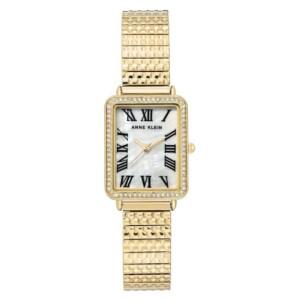 Anne Klein Gold Tone AK3802MPGB - zegarek damski