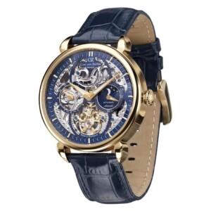Carl Von Zeyten Neukirch Skeleton Automatic CVZ0005GBL - zegarek męski