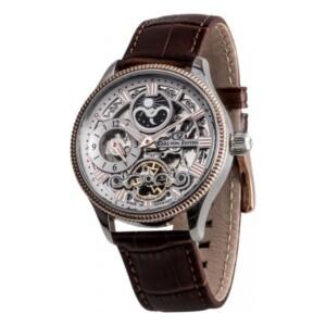 Carl Von Zeyten Kirnbach Skeleton Automatic CVZ0034RWH - zegarek męski