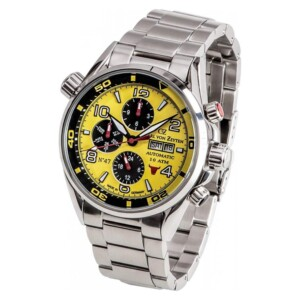 Carl Von Zeyten NO.47 Automatic CVZ0047YLMB - zegarek męski
