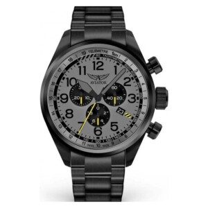Aviator Airacobra P45 Chrono V.2.25.5.174.5 - zegarek męski