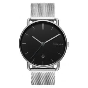 Meller Denka Black Silver 3PN-2SILVER - zegarek męski