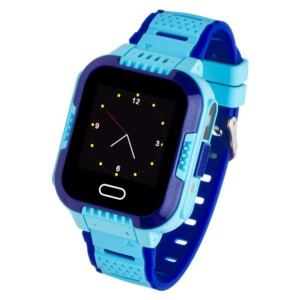 Garett SMARTWATCH GARETT KIDS FLY RT NIEBIESKI 5903246287417 - smartwatch dla chłopca
