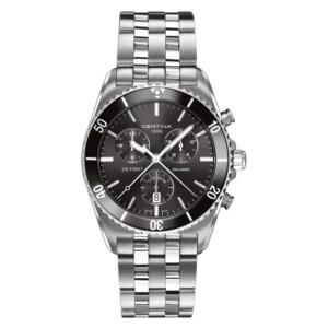Certina DS First Gent Ceramic Chrono Titanium C014.417.44.081.00 - zegarek męski
