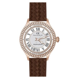 Carl Von Zeyten Hornberg CVZ0068RWH - zegarek damski