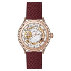 Carl Von Zeyten Seewald Skeleton CVZ0069RWH - zegarek damski