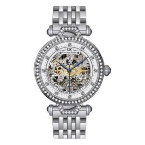 Carl Von Zeyten Gütenbach Skeleton CVZ0071WHMB - zegarek damski