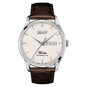 Tissot HERITAGE VISODATE POWERMATIC 80  T100.430.36.051.02 - zegarek męski
