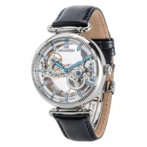 Carl Von Zeyten Elzach Skeleton Automatic CVZ0031WH - zegarek męski