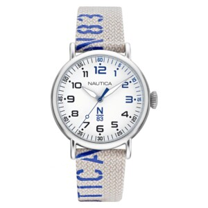 Nautica N83 LOVES THE OCEAN NAPLSS014 - zegarek męski