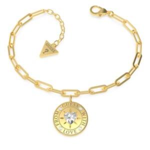 Biżuteria Guess With Love UBB70005-S - bransoletka damska