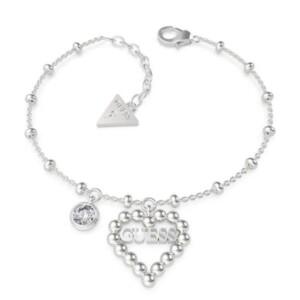 Biżuteria Guess UBB70089-S Heart Romance - bransoletka damska