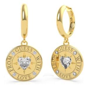 Biżuteria Guess UBE70027 With Love - kolczyki damskie