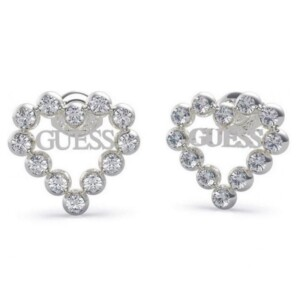 Biżuteria Guess UBE70170 Heart Romance - kolczyki damskie