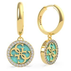 Biżuteria Guess UBE70248 Golden Hour - kolczyki damskie