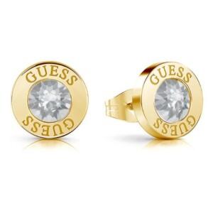 Biżuteria Guess UBE78095 Shiny Crystals - kolczyki damskie