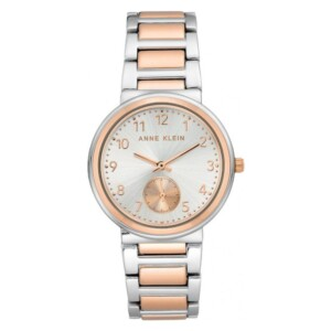 Anne Klein Diamond Accented AK3407SVRT - zegarek damski