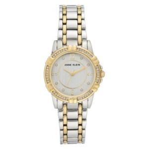 Anne Klein Swarovski Crystal Accented AK3483SVTT - zegarek damski