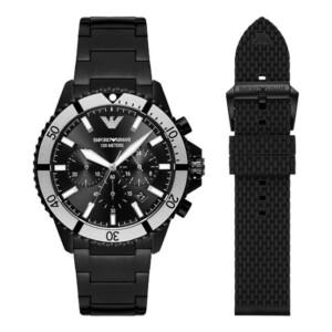Emporio Armani DIVER GIFT SET AR80050 - zegarek męski