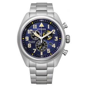 Citizen Military Chrono AT2480-81L - zegarek męski