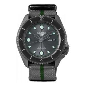 Seiko 5 NARUTO & BORUTO Limited Edition SRPF75K1 - zegarek męski