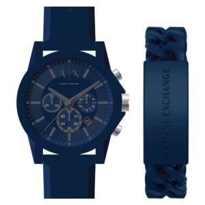 Armani Exchange Outerbanks SET Chronograph AX7128 - zegarek męski