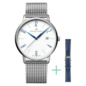 Maurice Lacroix ELIROS GENT DATE  EL1118-SS00E-120-C - zegarek męski