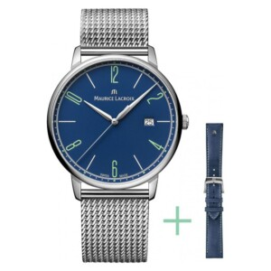 Maurice Lacroix ELIROS GENT DATE  EL1118-SS00E-420-C - zegarek męski