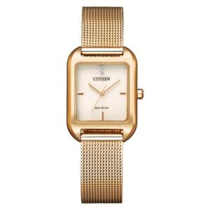 Citizen Rectangular EM0493-85P - zegarek damski