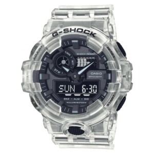 G-shock Classic White Skeleton GA-700SKE-7a - zegarek męski