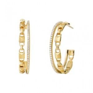 Biżuteria Michael Kors MKC1014AN710 - kolczyki damskie