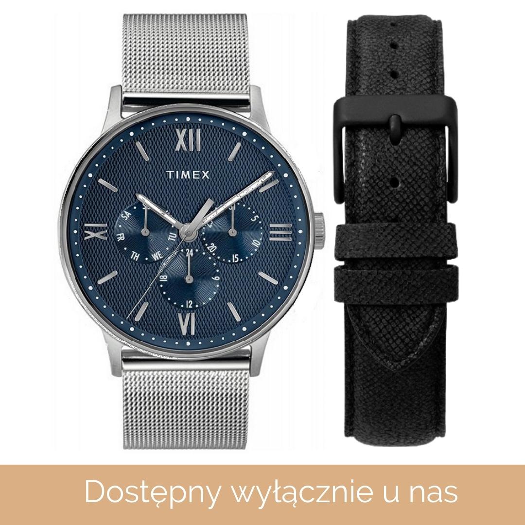 Timex KOLEKCJA SPECJALNA TIMEX dla ZegarkiCentrum.pl TW2T35100BR - zegarek męski 1