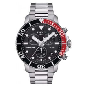 Tissot SEASTAR 1000 QUARTZ CHRONOGRAPH T120.417.11.051.01 - zegarek męski