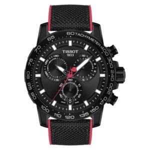 Tissot SUPERSPORT CHRONO DIAL BLACK PVD GIRO D'ITALIA T125.617.37.051.00 - zegarek męski