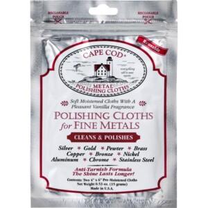 Cape Cod Metal Polishing Cloths CAPECOD