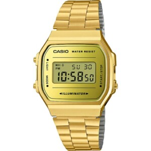 Casio Retro A168WEGM9