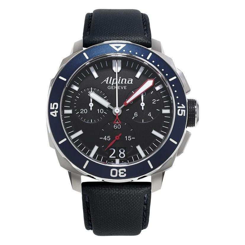 Alpina Seastrong Diver 300 Chronograph AL372LBN4V6 1