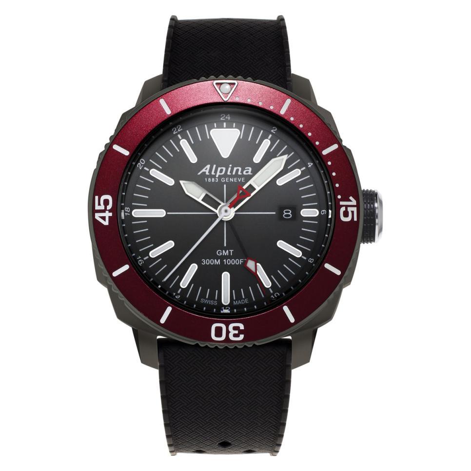 Alpina Seastrong Diver 300 GMT AL247LGBRG4TV6 1