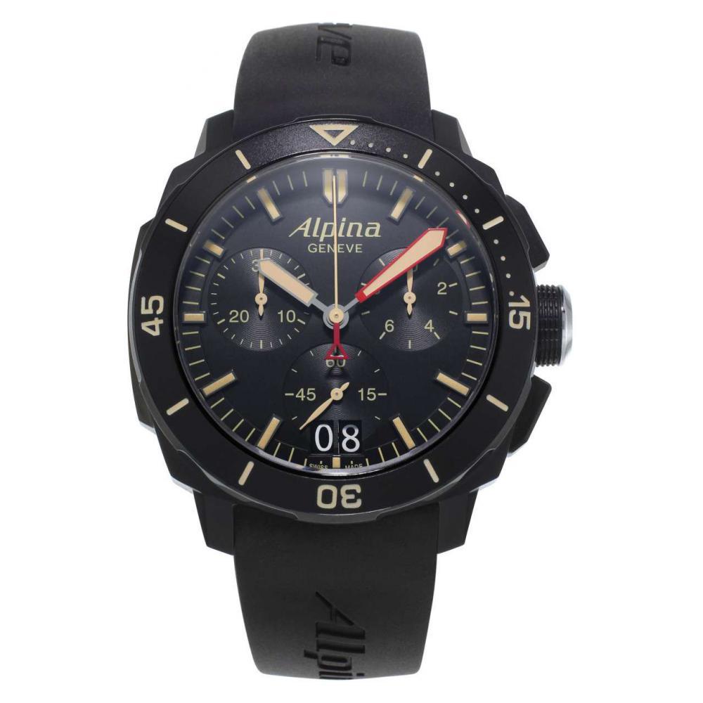 Alpina Seastrong Diver 300 Chronograph AL372LBBG4FBV6 1