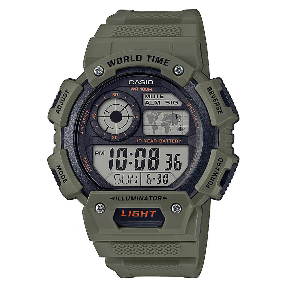 Casio Standard Digital AE1400WH3A 1